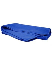 W.A.S.H. Microfiber Premium Poetsdoek  - Ultra zacht - blauw - 60 x 40 cm
