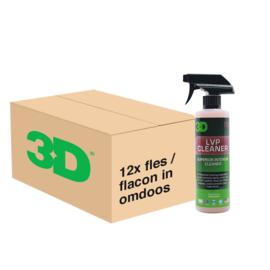 3D LVP CLEANER - 12x 16 oz / 473 ml Spray Fles in Grootverpakking