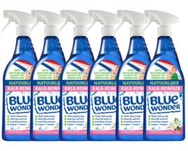 Blue Wonder 100% natuurlijke Alles-reiniger Oranjebloesem met Spray - Voordeelverpakking - 6x 750 ml flessen