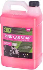 3D PINK CAR SOAP - 1 gallon / 3,8 liter jerrycan