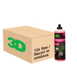 3D PINK CAR SOAP - 12x 16 oz / 473 ml Flacon in Grootverpakking