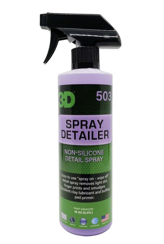 3D SPRAY DETAILER - 16 oz / 473 ml Spray Fles