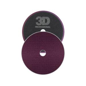 """3D Spider-Cut Dark Purple Foam Cutting pad 6.5"""""""