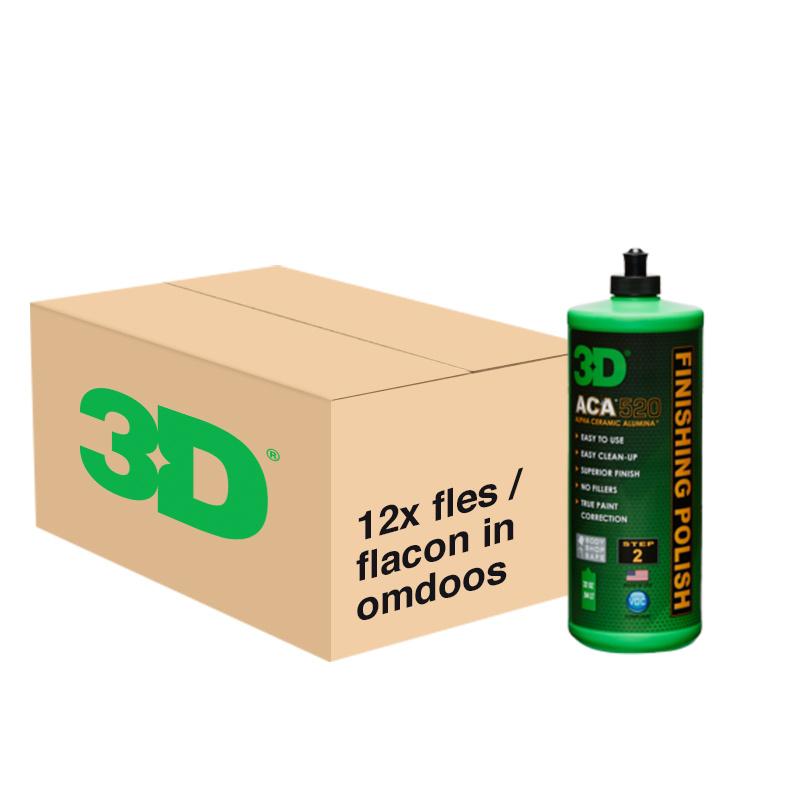 3D ACA FINISHING POLISH 520 - 12x 32 oz / 946 ml Flacon in Grootverpakking