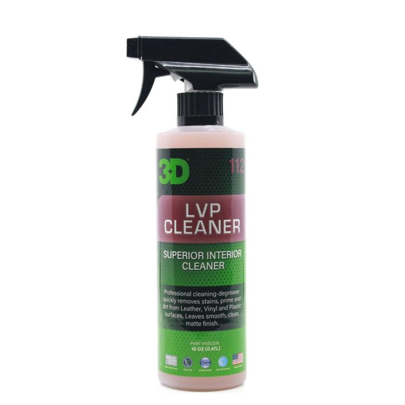 3D LVP CLEANER - 16 oz / 473 ml Spray Fles