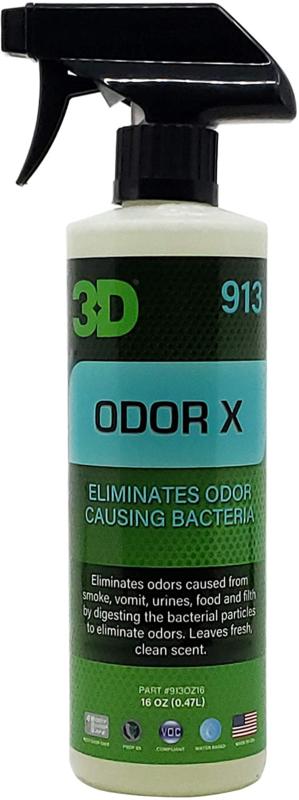 3D ODOR X - 16 oz / 473 ml Spray Fles