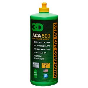 3D ACA X-TRA CUT COMPOUND 500