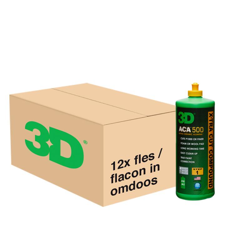 3D ACA X-TRA CUT COMPOUND 500 - 12x 32 oz / 946 ml Flacon in Grootverpakking