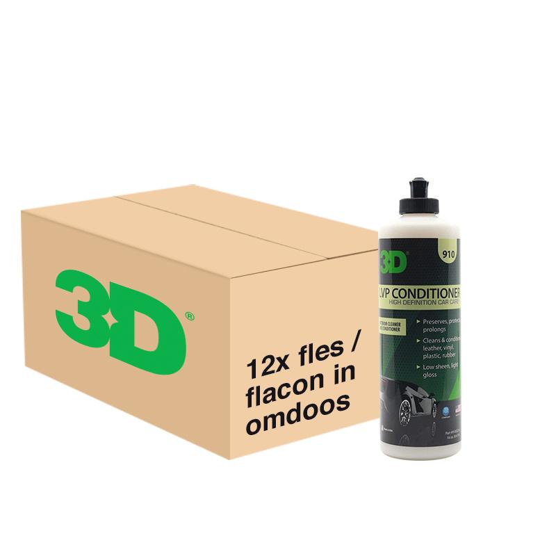 3D LVP CONDITIONER - 12x 16 oz / 473 ml Flacon in Grootverpakking