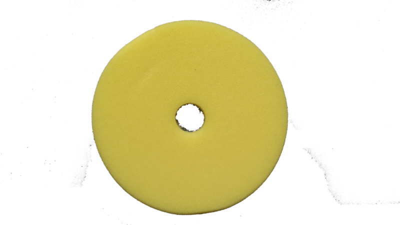 ACC Yellow Micro Fiber Finish/Polish pad 140 mm