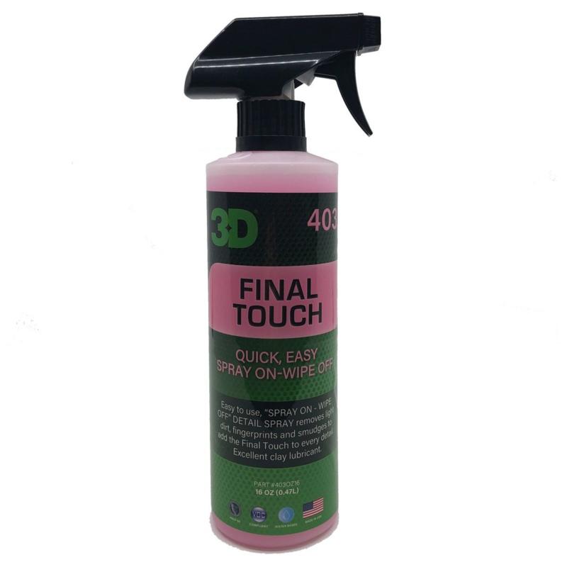 3D FINAL TOUCH - 16 oz / 473 ml Spray Fles