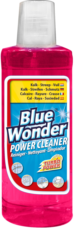 Blue Wonder Power Cleaner Sanitair-reiniger met Dop - 12x 750 ml omdoos