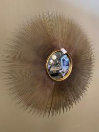 Richmond Interiors Spiegel Cass rond (Gold
