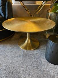 Richmond Interiors Salontafel Dexter 77Ø (Gold)