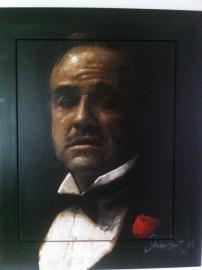 The Godfather van Peter Donkersloot ORIGINEEL