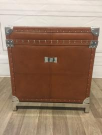 Eichholtz Brown Leather Flight case