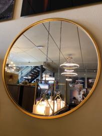 Richmond Interiors Spiegel Maesa goud 90Ø (Gold)