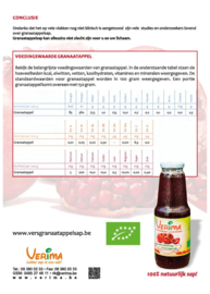 Granaline Granaatappelsap
