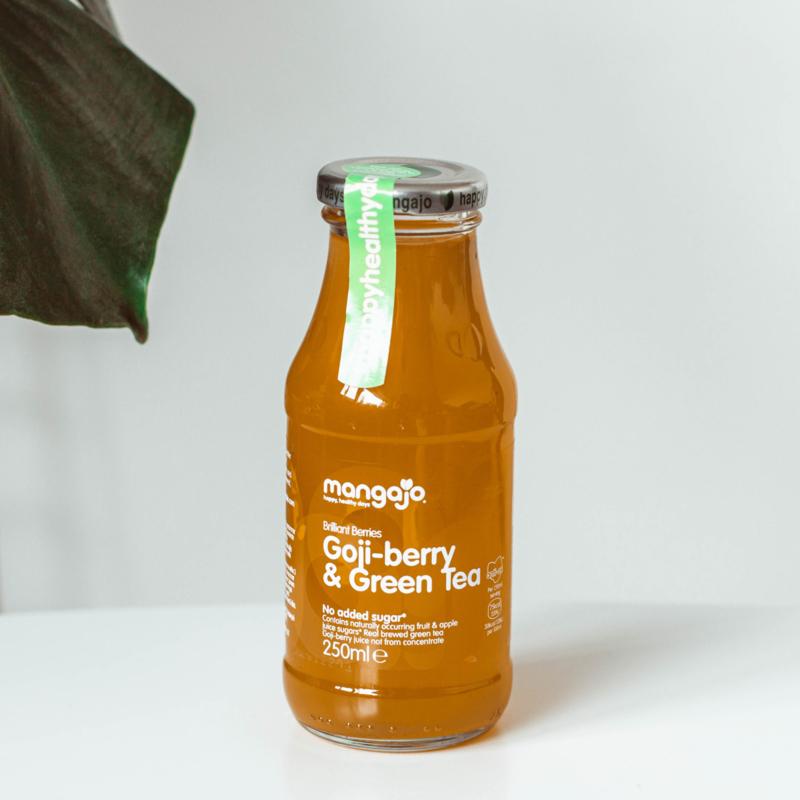 Mangajo Goji-berry & Green Tea 250ml