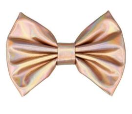 Strik metallic 12cm roze goud