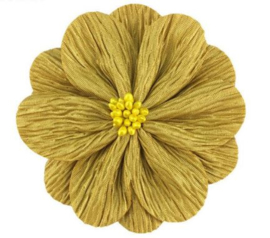 Bloem Lily 8cm oker geel