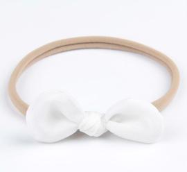 Haarband Fleur wit