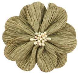 Bloem Lily 8cm goud