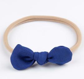 Haarband Fleur donkerblauw