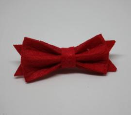 Strik Marjolein vilt 5cm rood