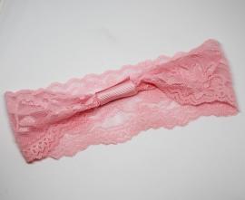 Newborn haarbandje Mieke roze