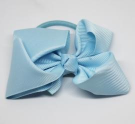 Haarelastiek Jasmine lichtblauw