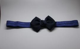 Haarband Madelon donkerblauw