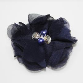 Bloem Suus donkerblauw