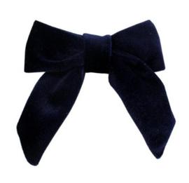Strik Marjet fluweel donkerblauw