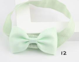 Haarband Deborah zacht mint groen