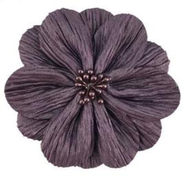 Bloem Lily 8cm paars grijs