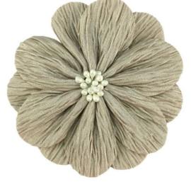Bloem Lily 8cm beige/taupe