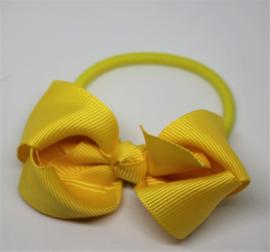 Haarelastiek Sophia geel