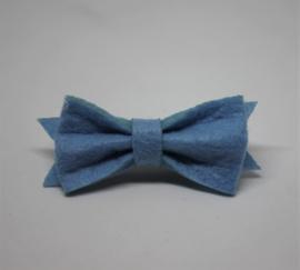 Strik Marjolein vilt 5cm blauw