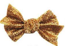 Strik Fieke glitter goud