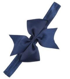 Haarband Esther donkerblauw