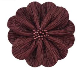Bloem Lily 8cm donkerrood