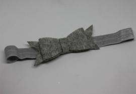 Haarband Dianne vilt grijs