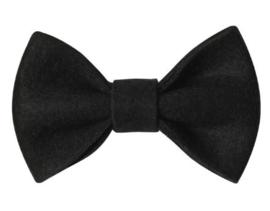 Strik vilt 7,5 cm zwart