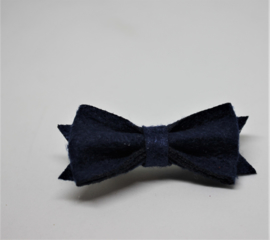 Strik Marjolein vilt 5cm donkerblauw