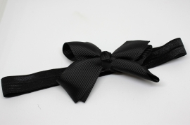 Haarband Merel zwart