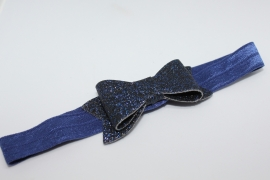 Haarband Manon donkerblauw