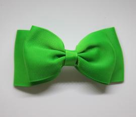 Strik dubbel 11cm groen