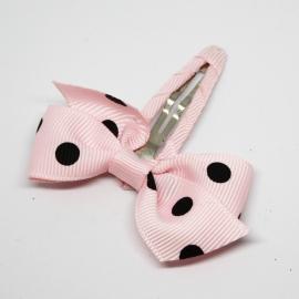 Knipje Femke roze/zwart