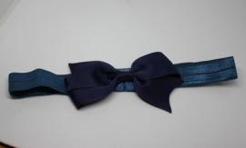 Haarband Anna donkerblauw
